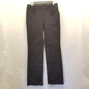NYDJ Marilyn NWT Straight Black Jeans Lift Tuck, 6